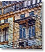 Bangkok Slum Housing Metal Print