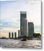 Bangkok Towers Metal Print