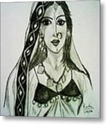 Banjaran - Indian Village Woman  Metal Print