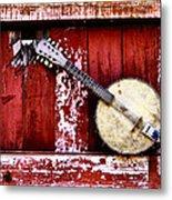 Banjo Mandolin - American Music Metal Print
