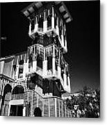 Bank Of America Building And Tower In Downtown Celebration Florida Usa Metal Print