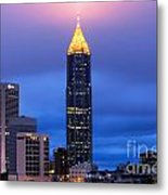 Bank Of America Plaza Metal Print