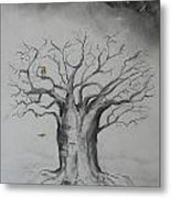 Baobab The Container Metal Print