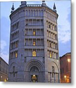 Baptistery Of Parma Metal Print