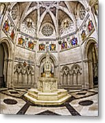 Baptistry At Saint John The Divine Cathedral Metal Print