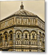 Baptistry - Florence Italy Metal Print