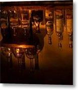 Bar Reflection Metal Print