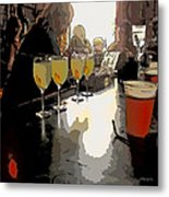 Bar Scene - Absinthe At Pirates Alley Metal Print