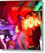 Bar Top Dancer Metal Print