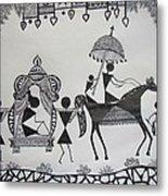 Baraat - The Wedding Procession Metal Print