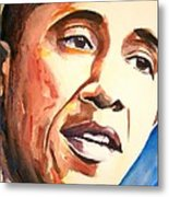 Barack Obama Metal Print by Brian Degnon