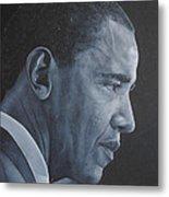 Barack Obama Metal Print by David Dunne