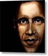 Barack Obama - New Day Metal Print