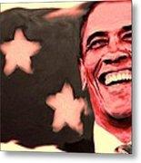 Barak Obama Metal Print by Parvez Sayed