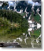 Baranof Lake Metal Print
