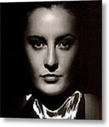 Barbara Stanwyck Early In Her Career C.1933-2014 Metal Print