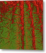 Barbed Abstract II Metal Print