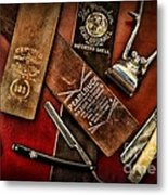 Barber - Barber Tools Of The Trade Metal Print