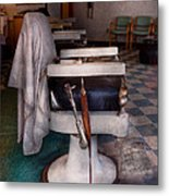 Barber - Frenchtown Nj - We Have Some Free Seats  Metal Print