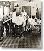 Barber Shop, 1920 Metal Print