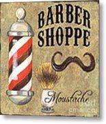 Barber Shoppe 1 Metal Print