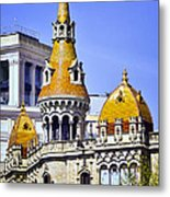 Barcelona Architecture Metal Print