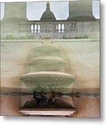 Barcelona Fountain Metal Print