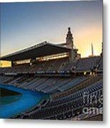 Barcelona Olympic Stadium Metal Print