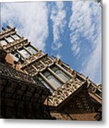 Barcelona's Marvelous Architecture - Avenue Diagonal Facade Metal Print