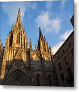 Barcelona's Marvelous Architecture - Cathedral Of The Holy Cross And Saint Eulalia Metal Print