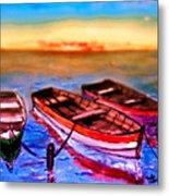 Barche Metal Print