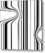 Barcode  C2014 Metal Print by Paul Ashby