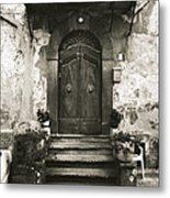 Barga Door Metal Print