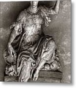 Bargello Sculpture Metal Print