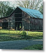 Barn 1 - Featured In Old Building And Ruins Group Metal Print