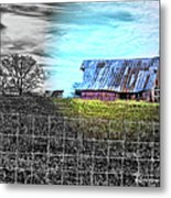 Barn 23 - Featured In Comfortable Art  And Artists Of Western Ny Groups Metal Print