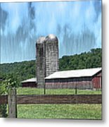 Barn 28 - Featured In Old Buildings And Ruins Group Metal Print