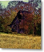 Barn And Diamond Reo-featured In Barns Big And Small Group Metal Print