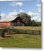 Barn At Yonah Mountain Winery 001 Metal Print