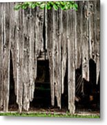 Barn Boards - Rustic Decor Metal Print
