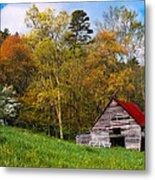 Barn Colors Metal Print