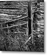 Barn Edge  Metal Print