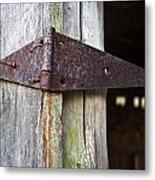 Barn Hinge 1 Metal Print