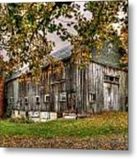 Barn House Metal Print