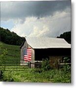Barn In The Usa Metal Print
