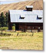 Barn Near Ellensburg Wa Metal Print