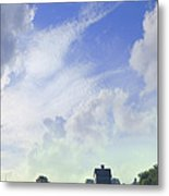Barn On Top Of The Hill Metal Print by Mike McGlothlen
