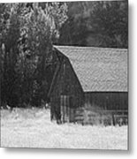 Barn Out West Metal Print