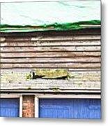 Barn Repairs Metal Print