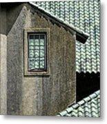 Barn Roofs At The Crane Estate Metal Print